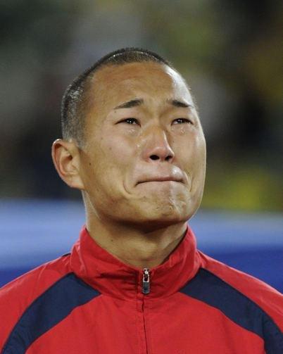 郑大世之母解儿子飙泪内因 为朝鲜踢球太自豪