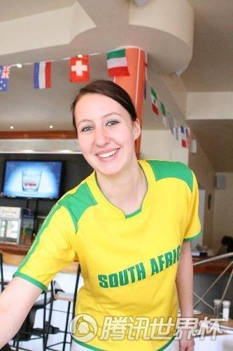 手记:模特服务生特供世界杯 白人美女挺巴西
