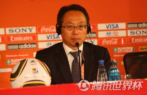 日本主帅赛后动容:真的很悲伤 输球是我责任