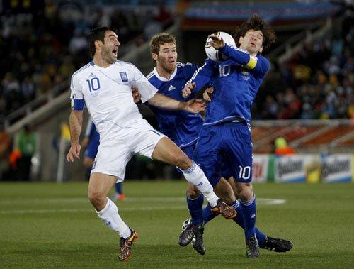 希腊冠军核心迷失世界杯 从此挥别超白金一代