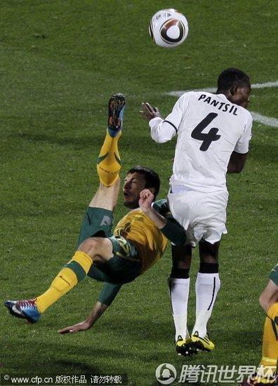 2010世界杯:澳大利亚vs加纳