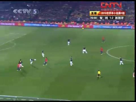 视频:智利VS西班牙75-80分钟比赛精彩回放