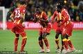 加纳队员激情舞蹈