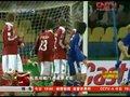 视频:日本队又现任意球破门 丹麦队很无奈
