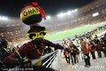 加纳球迷个性装扮