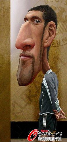漫画:库兰伊走俏转会市场 仗状态敲门世界杯