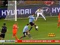 视频:范佩西越位虚晃一枪 斯内德进球有争议