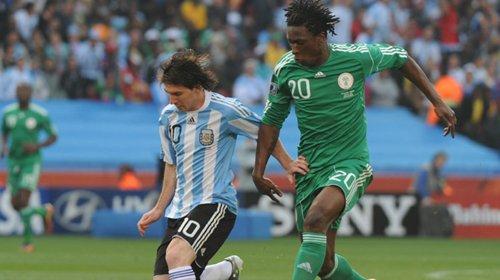海因策鱼跃冲顶建功 阿根廷1-0尼日利亚获胜