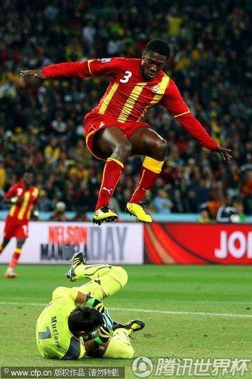 2010世界杯1/4决赛:加纳Vs乌拉圭