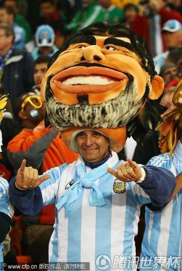 2010世界杯1/8决赛:阿根廷Vs墨西哥