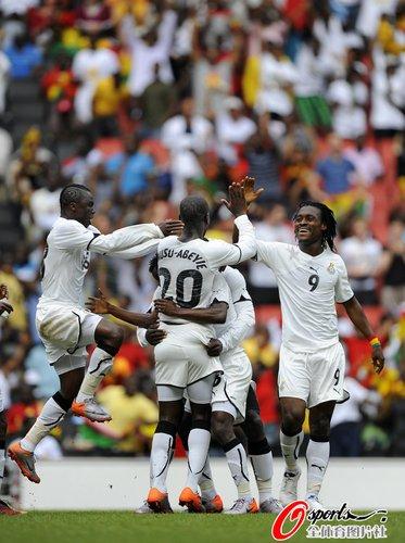 热身赛-加纳1-0拉脱维亚 替补尖刀绝杀定胜局