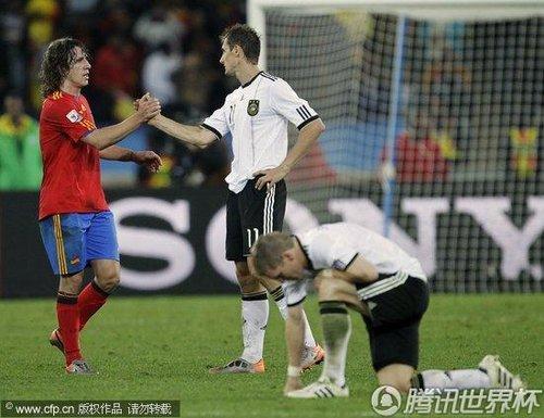 2010世界杯:德国vs西班牙