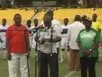 视频:加纳队举行世界杯出征仪式 副总统壮行