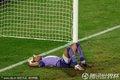 图文:美国1-0阿尔及利亚 奥赫布倒地不起