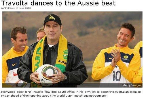 好莱坞巨星探营澳大利亚 4年前福星庇佑袋鼠