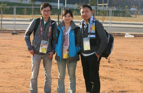 腾讯记者领取世界杯采访证 成中国网媒第一家