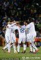 希腊队员庆祝获胜