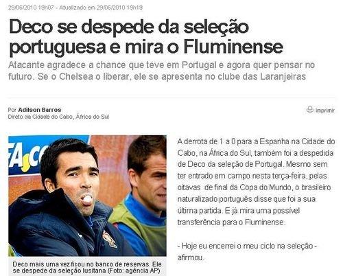 德科退出葡萄牙国家队 欲离切尔西回巴西踢球
