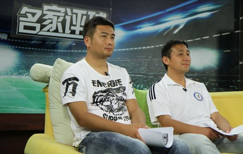 杨璞(左)南方(右)