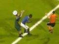 第125球:荷兰幸运扳平!梅洛争抢不慎进乌龙