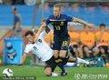 图文:德国4-0澳大利亚 厄齐尔被放倒