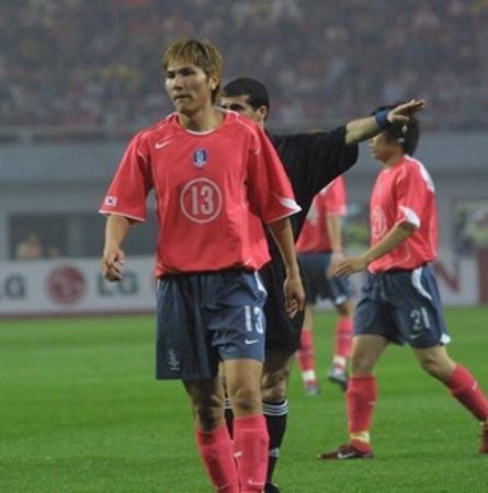 韩国世界杯大名单之金东进