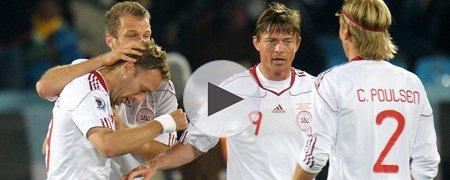 喀麦隆1-2丹麦 上半场