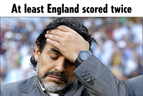 拉姆:英格兰比阿根廷强 至少他们进了两个球