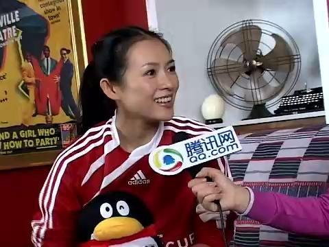 视频:章子怡做客 小贝很帅但我更爱梅西