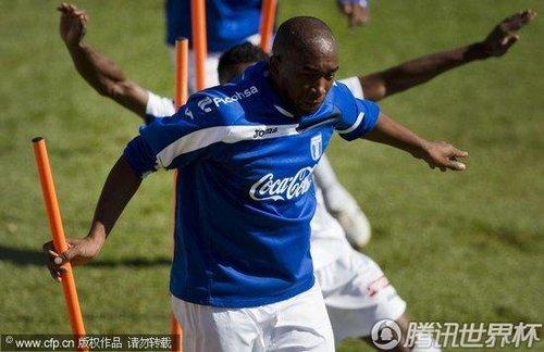 2010世界杯H组次轮前瞻:洪都拉斯训练备战