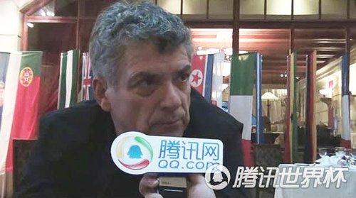 专访FIFA副主席:中国办世界杯必定无与伦比