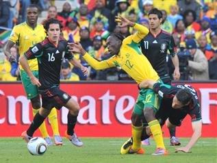 南非世界杯正式拉开序幕 南非墨西哥以和为贵