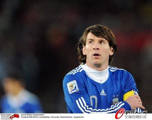最佳:队长梅西光芒耀全场 潘帕斯新领袖诞生