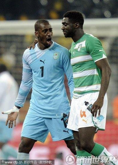 south africa soccer wcup north korea ivory coast