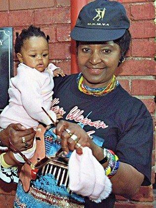 图文:曼德拉重孙女小时候的照片