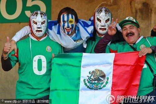 墨西哥一纪录比肩巴西 5届连进16强法国汗颜