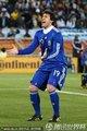 图文:阿根廷2-0希腊 米利托庆祝