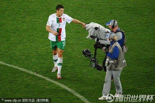 2010世界杯1/8决赛:西班牙1-0葡萄牙