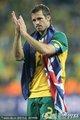 图文:塞尔维亚1-2澳大利亚 尼尔致谢球迷