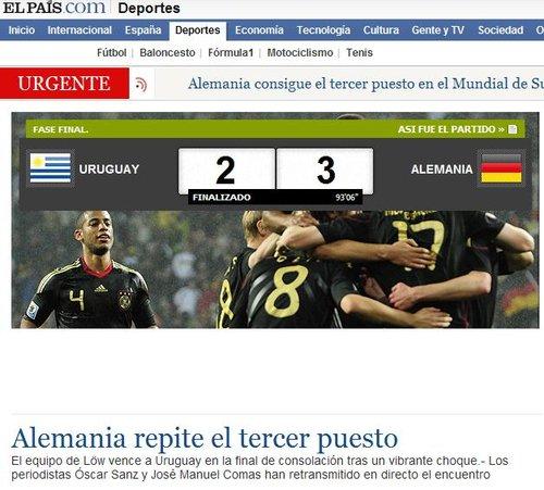 国家报:日耳曼人蝉联季军 德国足球看到未来