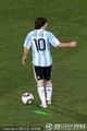 图文:阿根廷1-0尼日利亚 梅西遭绿光袭击