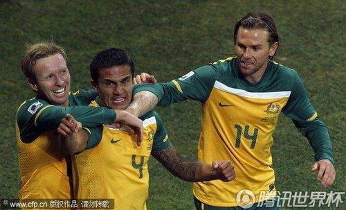 2010世界杯D组末轮:塞尔维亚1-2澳大利亚
