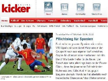 踢球者:西班牙须提高效率 末轮揭开去留谜底