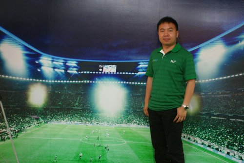 图文:南非世界杯腾讯记者团资深记者李博