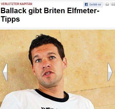 德国一绝技是英格兰祖师 巴拉克:我来教你们