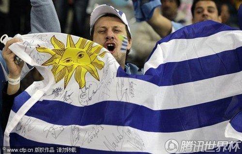 2010世界杯:乌拉圭vs法国