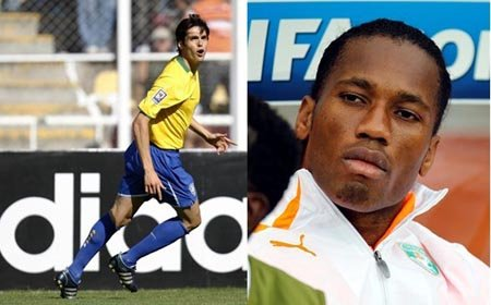 巴西VS科特迪瓦前瞻:卡卡PK德罗巴