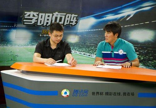 刘弘毅(左)李明(右)