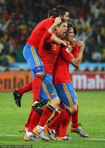 特评:西班牙控制力无敌 领先就不会错过胜利