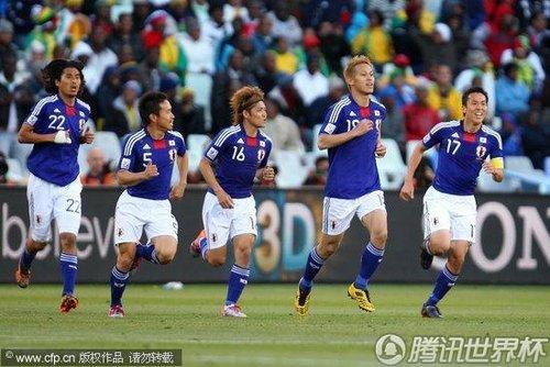 2010世界杯小组赛E组首轮:日本Vs喀麦隆